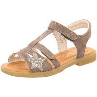 Schuhe Mädchen Sandalen / Sandaletten Vado Schuhe Dia beton 98202-425 grau