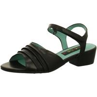 Schuhe Damen Sandalen / Sandaletten Everybody Sandaletten Schwarze Sandalette 20891T4114NERO schwarz