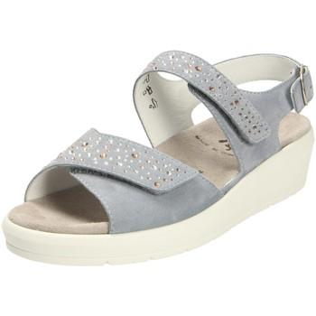 Schuhe Damen Sandalen / Sandaletten Semler Sandaletten SAMT-CHEVRO K5025042/076 blau