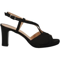 Schuhe Damen Sandalen / Sandaletten Soffice Sogno E9394 BLACK