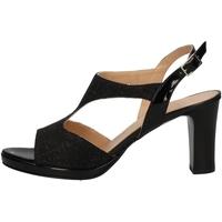 Schuhe Damen Sandalen / Sandaletten Soffice Sogno E9393 BLACK