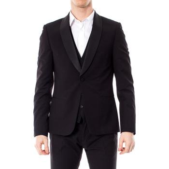 Kleidung Herren Jacken / Blazers Antony Morato MMJA00402-FA600104 Nero