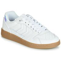 Schuhe Damen Sneaker Low Hummel HB TEAM SNOW BLIND Weiss