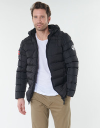 Kleidung Herren Daunenjacken Geographical Norway BALANCE-NOIR Schwarz