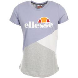 Kleidung Damen T-Shirts Ellesse Wn's TMC Tricolore Violett
