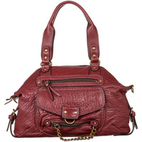 Taschen Damen Umhängetaschen Abaco Paris MINI ODELIA BORDEAUX