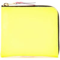 Taschen Damen Portemonnaie Comme Des Garcons , Geldbeutel in Gelb und Orange Leder Bunt