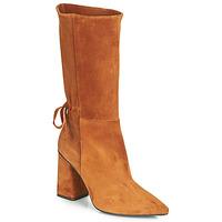 Schuhe Damen Klassische Stiefel Fericelli LUCIANA Camel