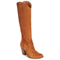Schuhe Damen Klassische Stiefel Fericelli LUNIPIOLLE Camel