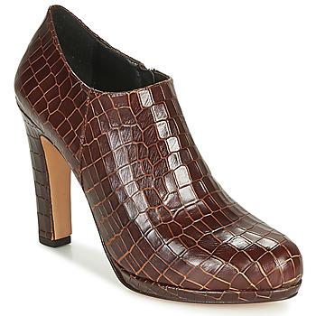 Schuhe Damen Ankle Boots Fericelli OMBRETTA Braun