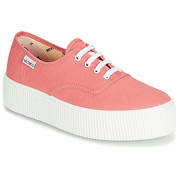 Schuhe Damen Sneaker Low Victoria 1915 DOBLE LONA Rose
