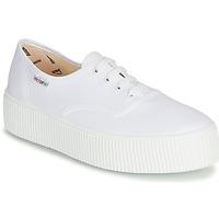 Schuhe Damen Sneaker Low Victoria 1915 DOBLE LONA Weiss