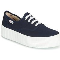 Schuhe Damen Sneaker Low Victoria 1915 DOBLE LONA Marine
