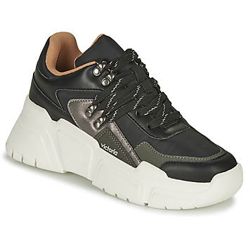 Schuhe Damen Sneaker Low Victoria TOTEM NYLON Schwarz
