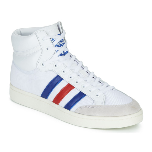 Schuhe Sneaker High adidas Originals AMERICANA HI Weiss / Blau / Rot