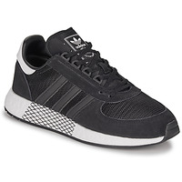 Schuhe Herren Sneaker Low adidas Originals MARATHON TECH Schwarz
