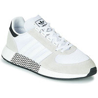Schuhe Sneaker Low adidas Originals MARATHON TECH Weiss