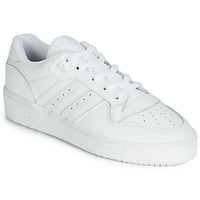 Schuhe Sneaker Low adidas Originals RIVALRY LOW Weiss