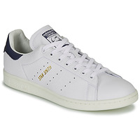 Schuhe Sneaker Low adidas Originals STAN SMITH Weiss / Blau