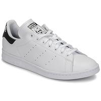 Schuhe Sneaker Low adidas Originals STAN SMITH Weiss / Schwarz
