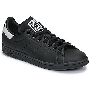 Schuhe Sneaker Low adidas Originals STAN SMITH Schwarz / Weiss