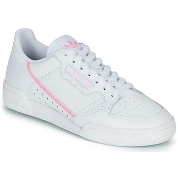 Schuhe Damen Sneaker Low adidas Originals CONTINENTAL 80 W Weiss / Rose