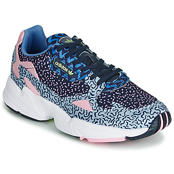 Schuhe Damen Sneaker Low adidas Originals FALCON W Blau / Rose