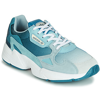 Schuhe Damen Sneaker Low adidas Originals FALCON W Blau