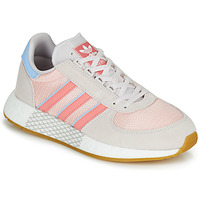 Schuhe Damen Sneaker Low adidas Originals MARATHON TECH W Grau / Rose
