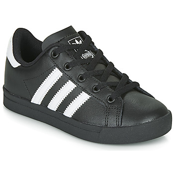 Schuhe Kinder Sneaker Low adidas Originals COAST STAR C Schwarz / Weiss