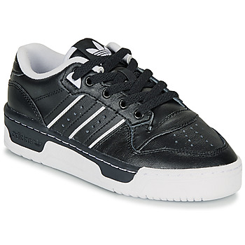Schuhe Kinder Sneaker Low adidas Originals RIVALRY LOW J Schwarz