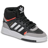 Schuhe Jungen Sneaker High adidas Originals DROP STEP J Schwarz / Grau