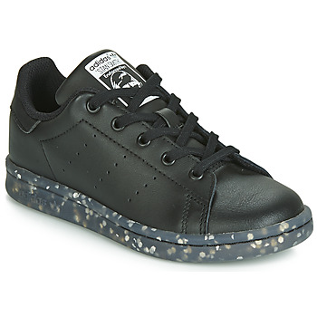 Schuhe Kinder Sneaker Low adidas Originals STAN SMITH C Schwarz