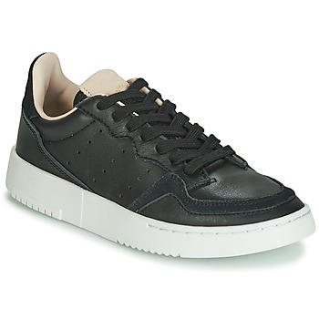 Schuhe Kinder Sneaker Low adidas Originals SUPERCOURT J Schwarz