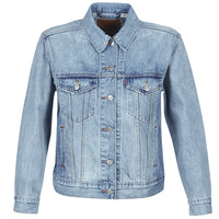 Kleidung Damen Jeansjacken Levi's EX-BOYFRIEND TRUCKER  for / Real