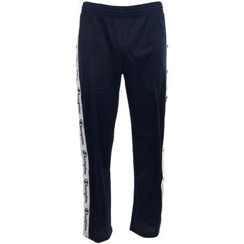 Kleidung Herren Jogginghosen Champion Straight Hem Pants Men's Blau