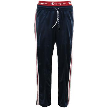 Kleidung Damen Jogginghosen Champion Straight Hem Pants Blau