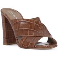 Schuhe Damen Pantoffel Priv Lab CUOIO KAIMAN Marrone