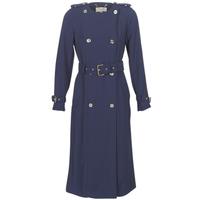 Kleidung Damen Trenchcoats MICHAEL Michael Kors COLLARLESS TRENCH Marine