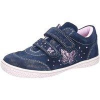 Schuhe Mädchen Sneaker Low Lurchi By Salamander Klettschuhe Tany blau