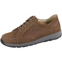 Schuhe Herren Sneaker Low Finn Comfort Schnuerschuhe Saragossa 01197-260233 braun