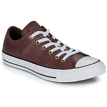 Schuhe Sneaker Low Converse CHUCK TAYLOR ALL STAR LEATHER - OX Burgunderrot
