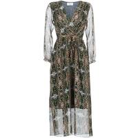 Kleidung Damen Maxikleider Betty London LILIE-ROSE Grün / Multifarben