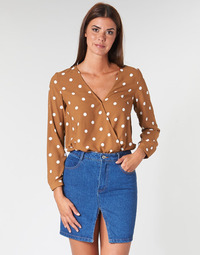 Kleidung Damen Tops / Blusen Betty London LOUISIANA Camel