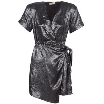 Kleidung Damen Kurze Kleider Moony Mood LIVINE Silbern