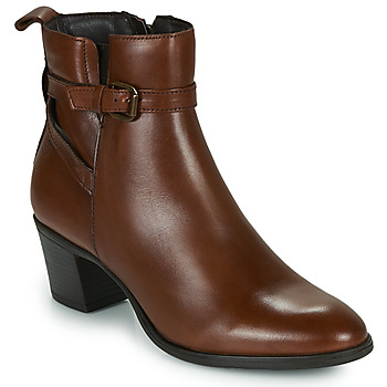 Schuhe Damen Low Boots Betty London LAVANDA Cognac