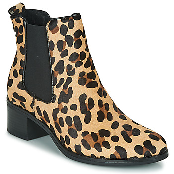 Schuhe Damen Low Boots Betty London HASNI Leopard