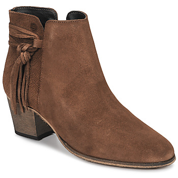 Schuhe Damen Low Boots Betty London HEIDI Cognac