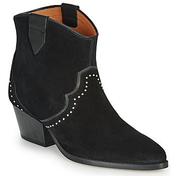 Schuhe Damen Low Boots Betty London LOUELLA Schwarz