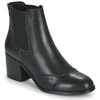 Schuhe Damen Low Boots Betty London LARISSA Schwarz